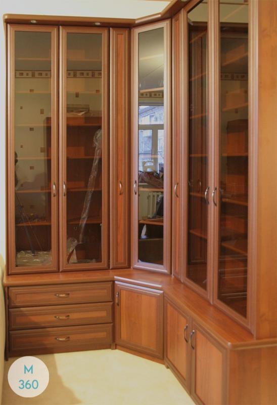 Угловой книжный шкаф Шарлотт Арт 000030497