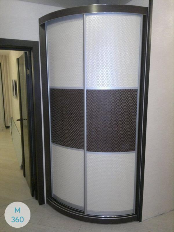 Радиусный шкаф Манила Арт 000563582