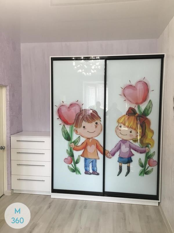Шкаф для девочки Бмс Арт 000637039