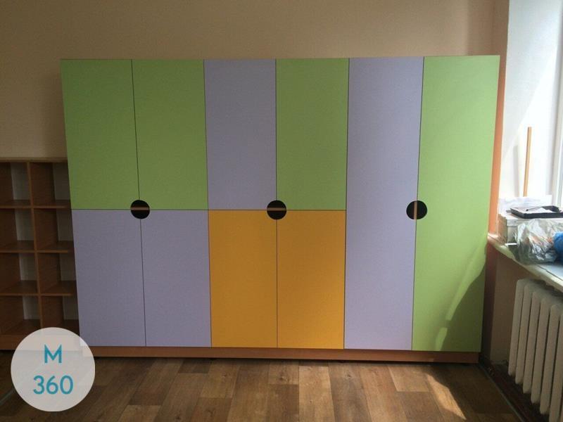 Шкафчик для детского сада Васильки Арт 000891933