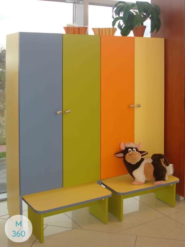 Шкафчик для детского сада Монтрей Арт 001883444