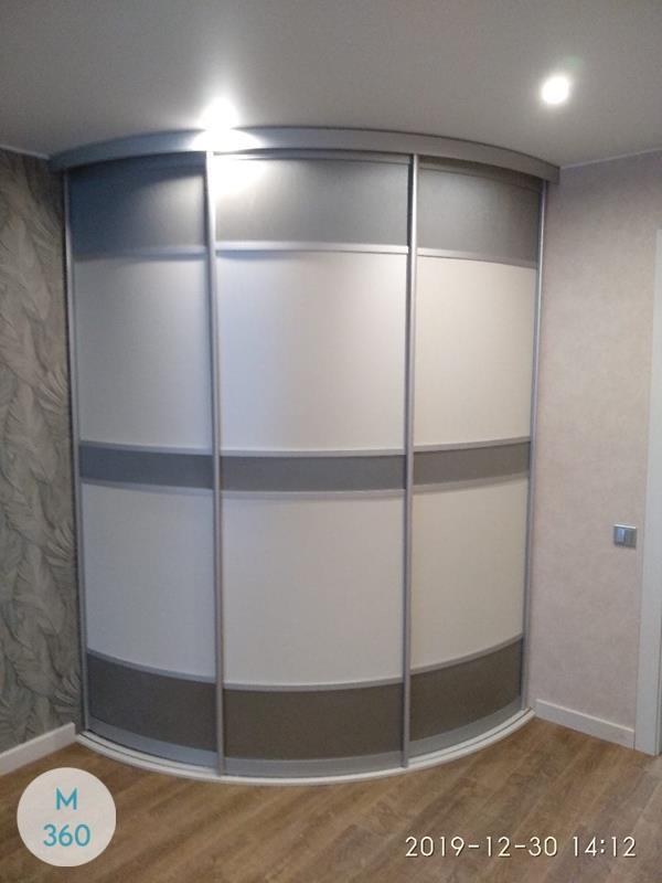 Радиусный шкаф Монстера Арт 001929066