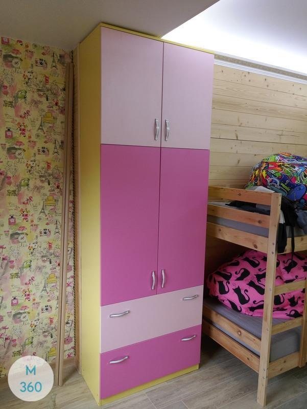 Шкаф для девочки Непал Арт 002538807