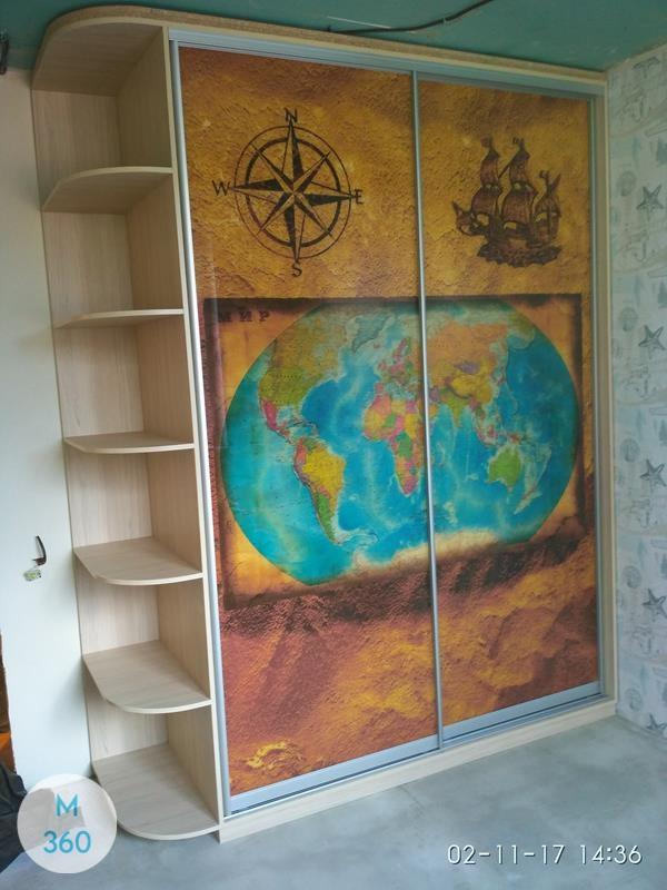 Шкаф для школьника Люксор Арт 002621027