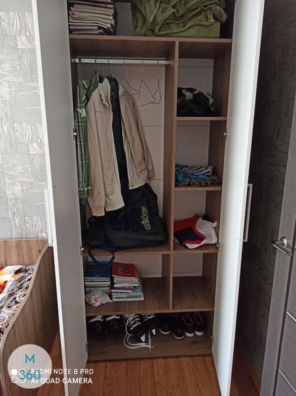 Шкаф для одного человека Абердин Арт 002954305