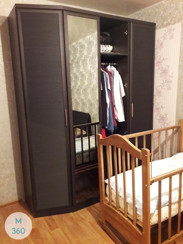 Шкаф в ванную с корзиной Рио Арт 003975477