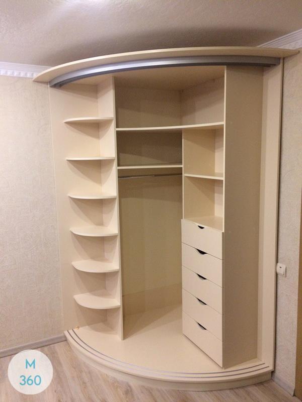 Радиусный шкаф Урсула Арт 004192782