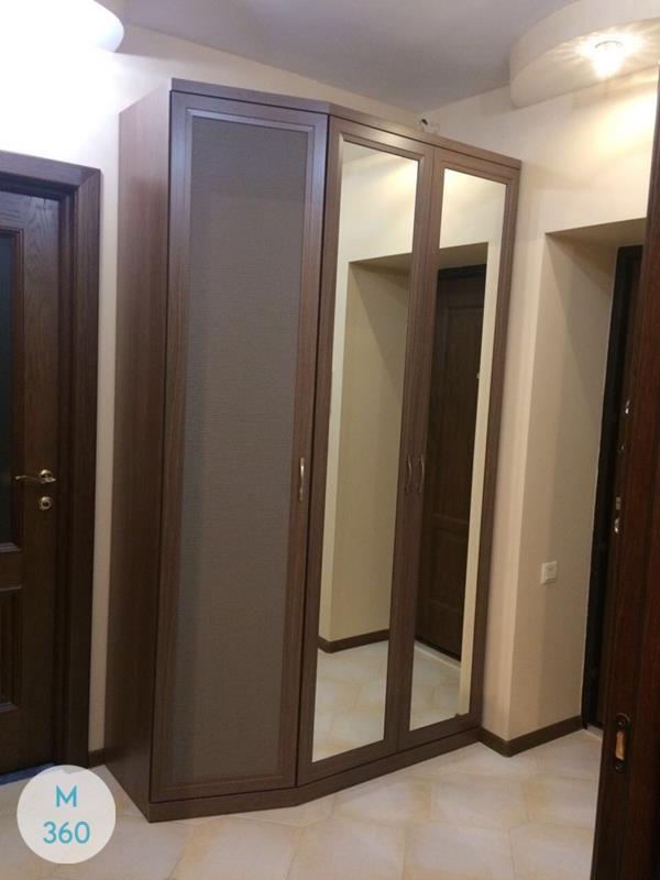 Распашной шкаф с зеркалом Уэлс Арт 004550777