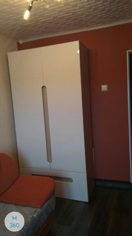 Шкаф в ванную с корзиной Буджардини Арт 005467338