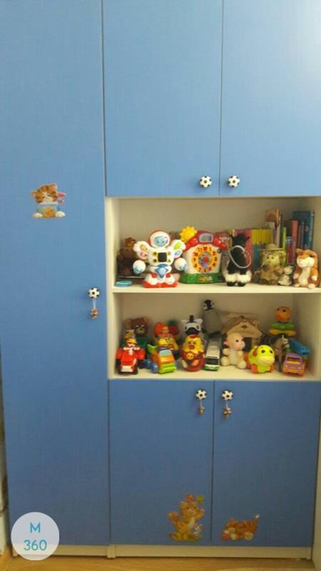 Детский книжный шкаф Вааль Арт 006048178