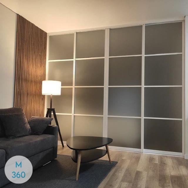 Зеркальные двери для гардеробной Висбаден Арт 006347545