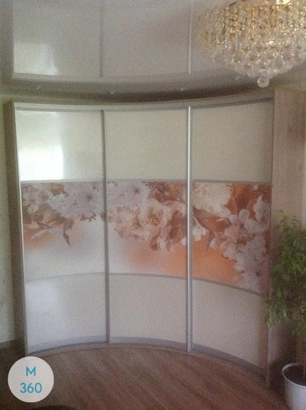 Шкаф купы с пескоструйным рисунком Бенвенуто Арт 006550177