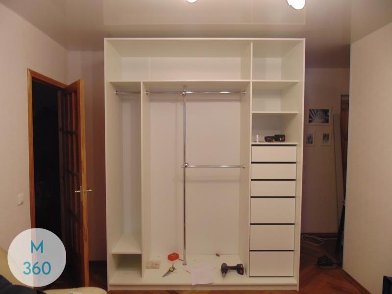 Белый шкаф Браун Арт 006554565