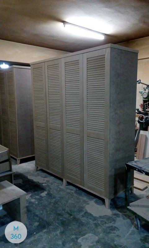 Шкаф с жалюзийными дверцами Мидленд Арт 006622214