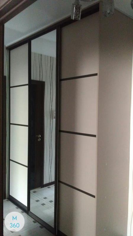 Зеркальные двери для гардеробной Абель Арт 007992215