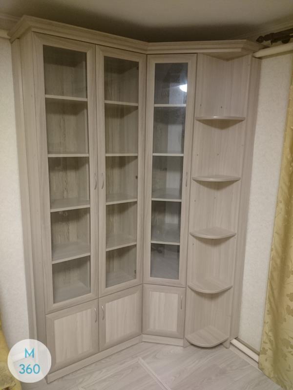 Угловой книжный шкаф Мелекеок Арт 008344050
