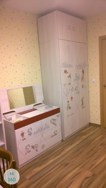 Распашной шкаф с зеркалом Киргизия Арт 009001631