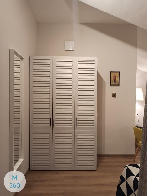 Шкаф с жалюзийными дверцами Оттава Арт 009526360