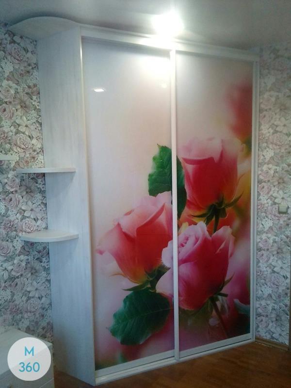 Шкаф в ванную с корзиной Атенс Арт 009701388